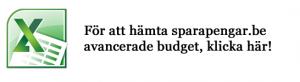 Hämta sparapengar.be avancerade budget